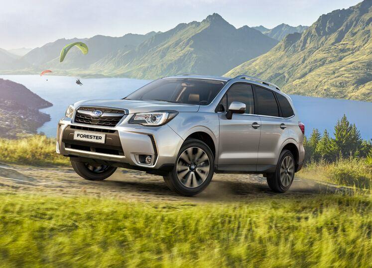 Subaru Forester признан самым современным автомобилем 2018 года