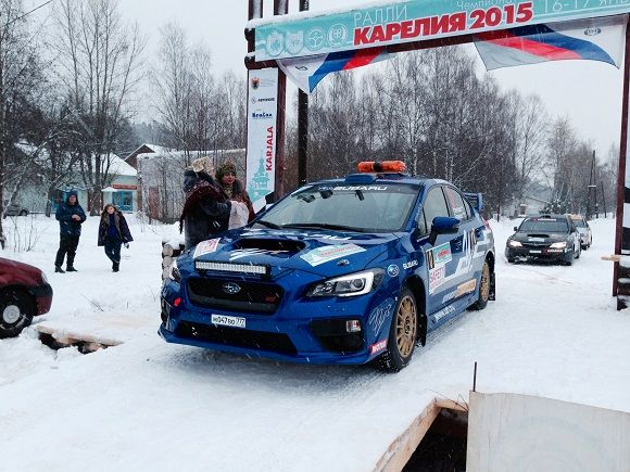 Команда Subaru на ралли «Пено-2015»
